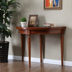 Rosanna Sienna Convertible Console Dining Table