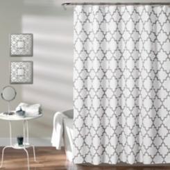 Gray Bella Shower Curtain