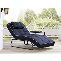 Canyon Convertible Navy Chaise Lounge