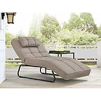 Canyon Convertible Sand Chaise Lounge
