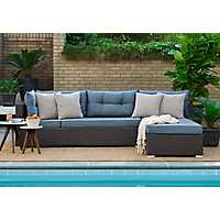 Hadley Modular Blue 2-pc. Sectional Set