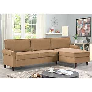 Macauley Reversible Chaise Dove Sectional