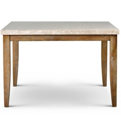 Aprilla Counter Height Marble Top Dining Table