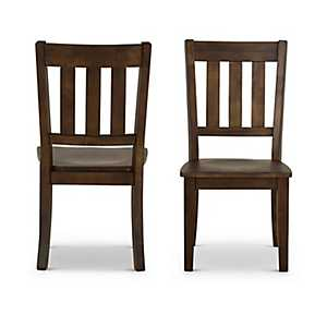 Monroe School House Dining Chairs, Set of 2