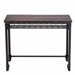 Counter Height with Wine Storage Dining Table