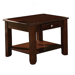 Nathan Cherry Accent Table
