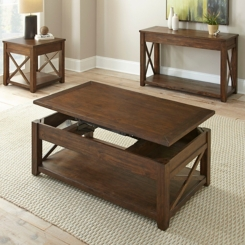 Leyton Lift Top Coffee Table with Casters