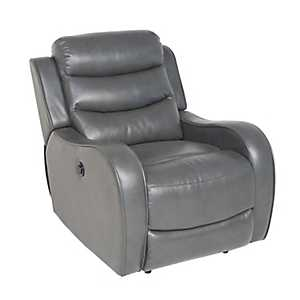 Walden Gray Power Recliner