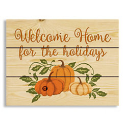 Welcome Home Wood Pallet Wall Plaque