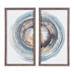 Into the Dark Framed Art Prints, Set of 2