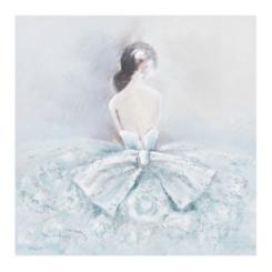 Luxart Blue Dress Canvas Art Print