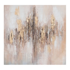 Luxart Bronze and Gold Canvas Art Print