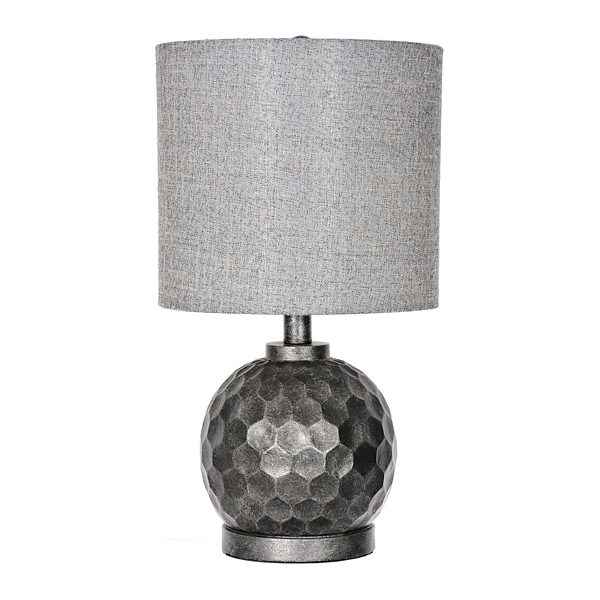 Antique Pewter Ava Table Lamp