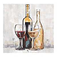Cabernet and Chardonnay Canvas Art Print