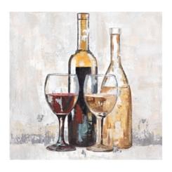 Cabernet and Chardonnay Canvas Art Print