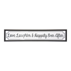Happily Ever After Panel Framed Art Print