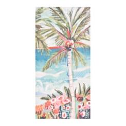 Whimsical Palm Tree Canvas Art Print