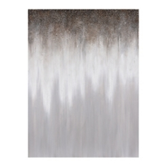 Luxart Silver Rain Canvas Art Print