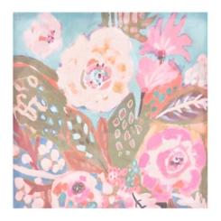 Tropical Floral II Canvas Art Print