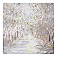 Forest Path Canvas Art Print