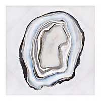 Blue Geode Canvas Art Print