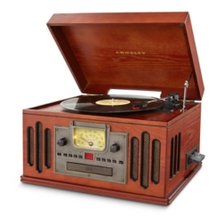 Vintage Turntable with Modern Bluetooth Options
