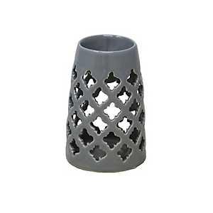 Ceramic Gray Oil Burner