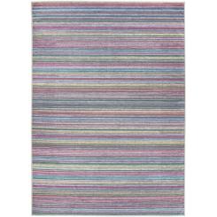 Multicolor Striped 2-pc. Washable Area Rug, 5x7