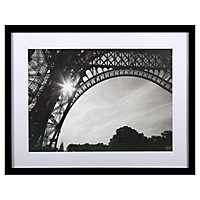 Morning in Paris I Framed Glass Art