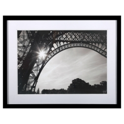 Morning in Paris I Framed Glass Art
