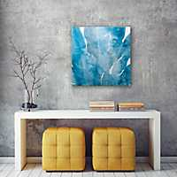 Blue Urada II Canvas Art Print