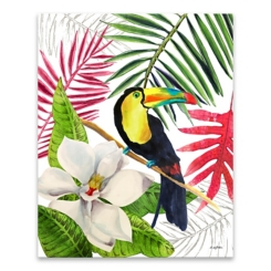 La Isla V Canvas Art Print