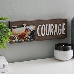 Token Of You Courage Photo Box 4x6