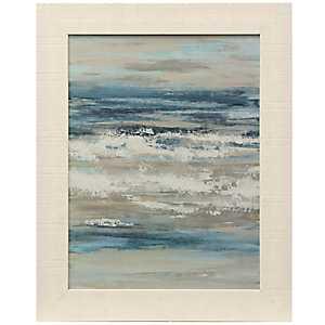 Waves of the Sea Framed Art Print