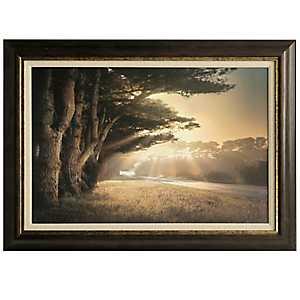 Landscape at Dusk Framed Art Print