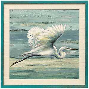 Great Egret III Framed Art Print