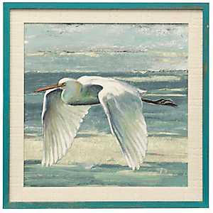 Great Egret IV Framed Art Print