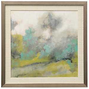 Rainy Day Blues Framed Art Print