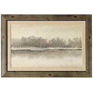 By The River Side Framed Art