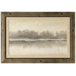 By The River Side Framed Art Print