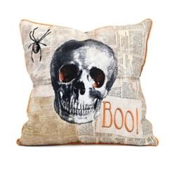 Halloween Skull Pillow