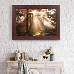 New Day Fall Photography Framed Art Print