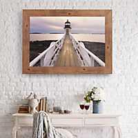Marshall Point Lighthouse Photography Framed Print