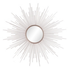 Champagne Rays Starburst Mirror, 36 in.
