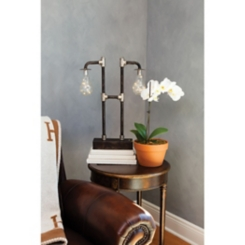 Industrial Battery Operated Oxford Table Lamp