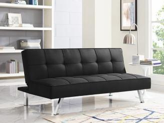 Calvin Serta Black Convertible Sofa