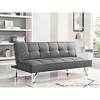Calvin Serta Gray Convertible Sofa