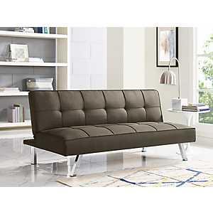 Calvin Serta Brown Convertible Sofa