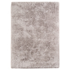 Merritt Light Gray Shag Rug, 5x8