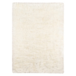 Merritt White Shag Rug, 8x10